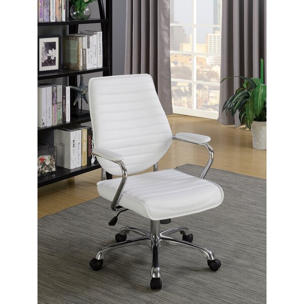 Hallissey Contemporary Office Chair by Orren Ellis