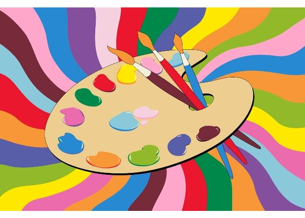 Fun Time Painting Time Area Rug by Fun Rugs