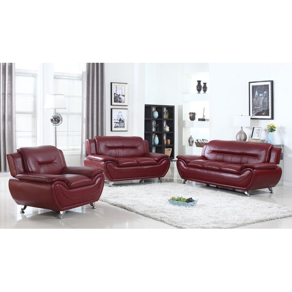 Sather 3 Piece Living Room Set by Latitude Run