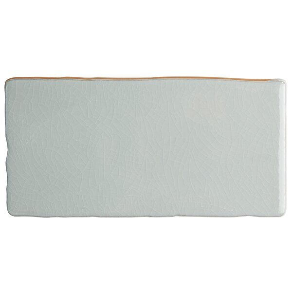 Antiqua Craquelle 3 x 6 Ceramic Subway Tile in Gris Soho by EliteTile
