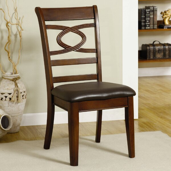 Carlton Solid Wood Dining Chair (Set of 2) by Hokku Designs