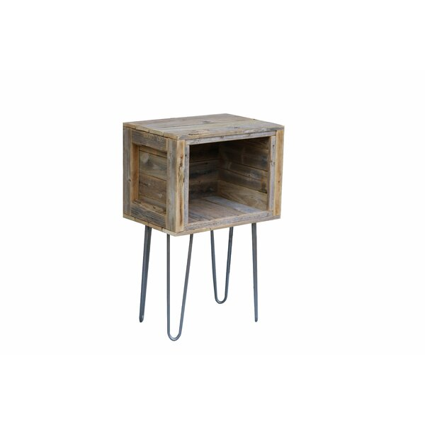 Adeliza Rustic End Table by Union Rustic