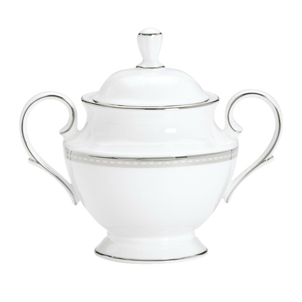 Murray Hill Sugar Bowl with Lid by Lenox