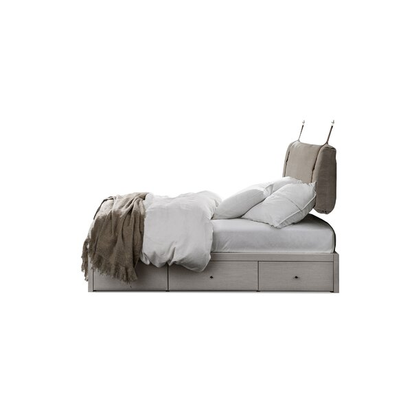 Siddiqui Full Platform Bed with Drawers by Latitude Run