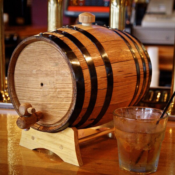 3 Liter Beverage Dispenser by Bluegrass Barrels
