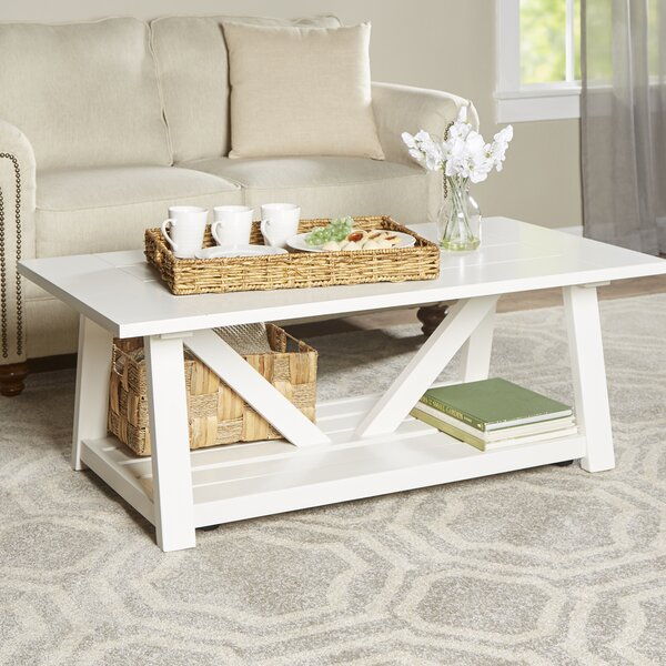 Margate Coffee Table by Rosecliff Heights