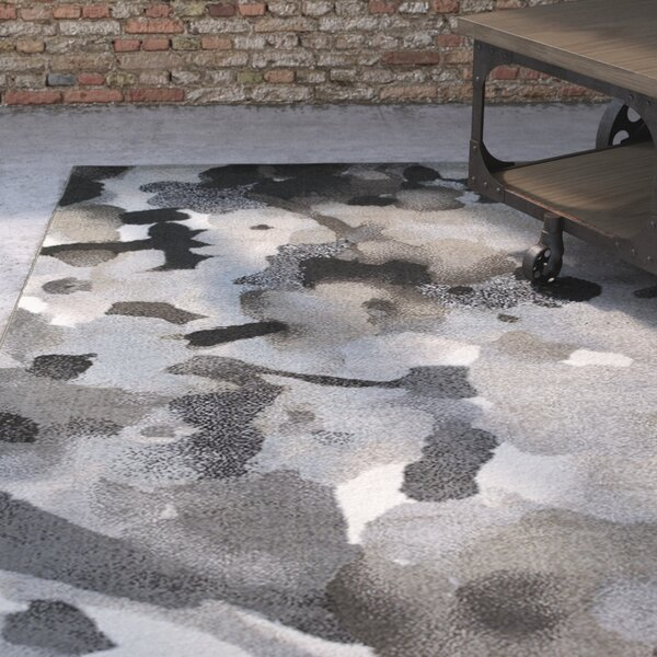 Ariel Gray Area Rug by Williston Forge
