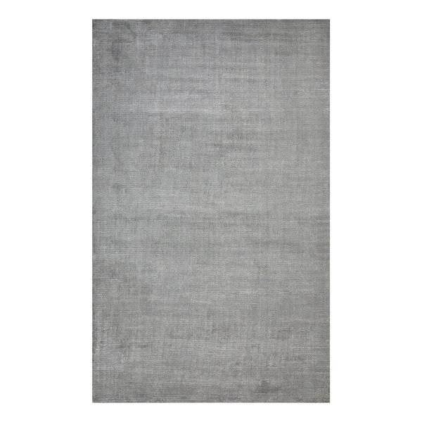 Cordi Hand Knotted Wool Mist Rug