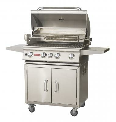 Angus 4-Burner Propane Gas Grill with Cabinet by Bull Outdoor Products