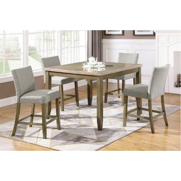 Anund 5 Piece Counter Height Dining Set by Red Barrel Studio Red Barrel Studio
