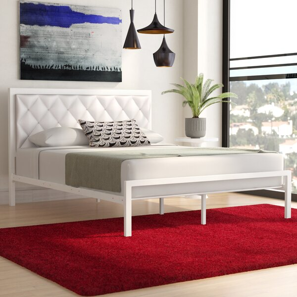 Karns Upholstered Platform Bed by Three Posts