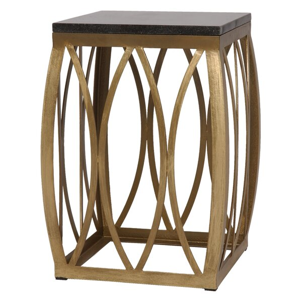 Gabriele Accent Stool by Everly Quinn