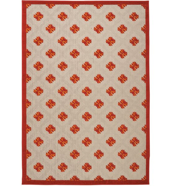 Gatti Red Indoor/Outdoor Area Rug by Wrought Studio