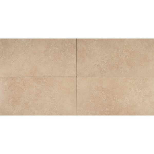 12 x 24 Porcelain Field Tile in Travertino by MSI