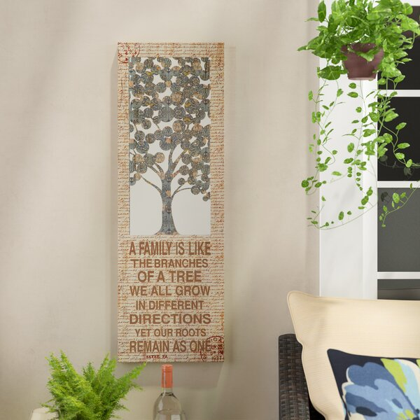 Family Themed Creative Metal Wall Décor by Red Barrel Studio
