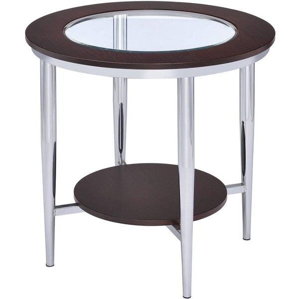 Jeanlouis End Table With Storage By Winston Porter