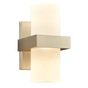Price comparison Neff 2-Light Outdoor Sconce By Orren Ellis