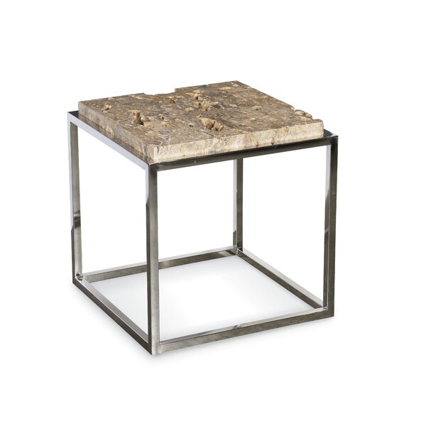 Kailey Aria End Table by Union Rustic