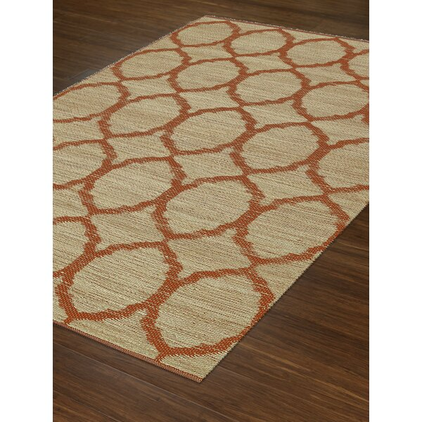 Santiago Dalyn Orange Area Rug by Dalyn Rug Co.