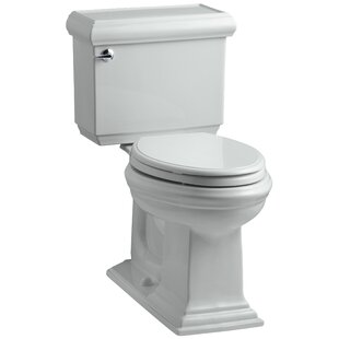 Memoirs Classic Comfort Height Two Piece Elongated 1.6 GPF Toilet with Aquapiston Flush Technology and Left-Hand Trip Lever ByKohler