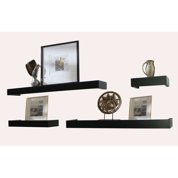 4 Piece Bathroom Shelf Set by Jenlea