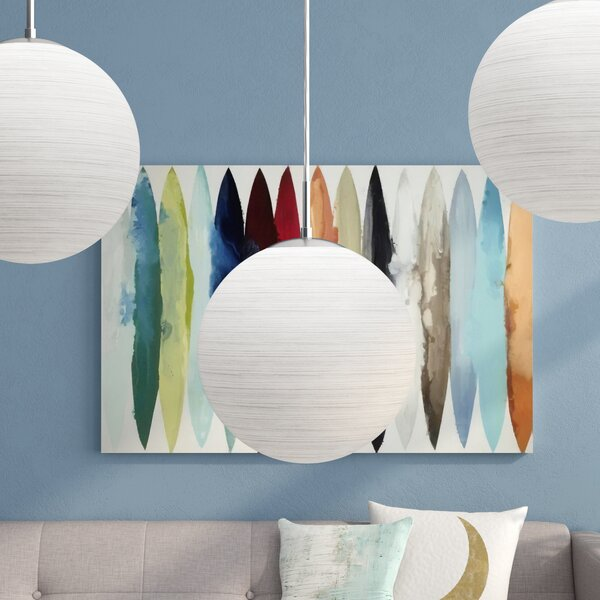 Cudahy 1-Light Pendant by Ivy Bronx