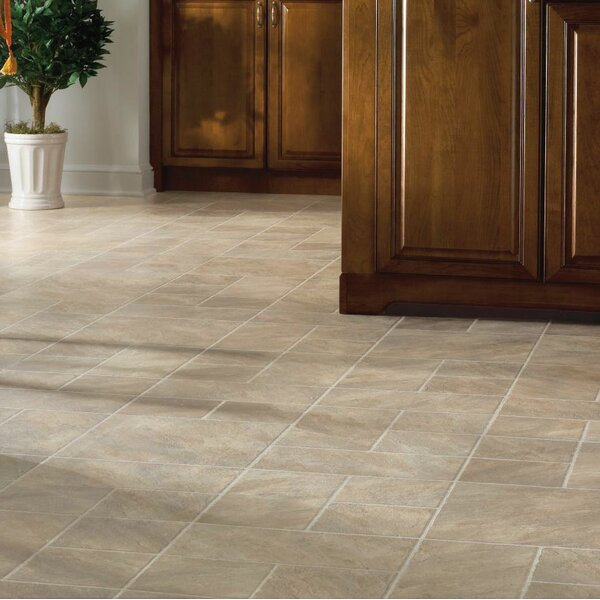 Castilian Block 16 x 48 x 8mm Tile Laminate Flooring in Rambla by Armstrong Flooring