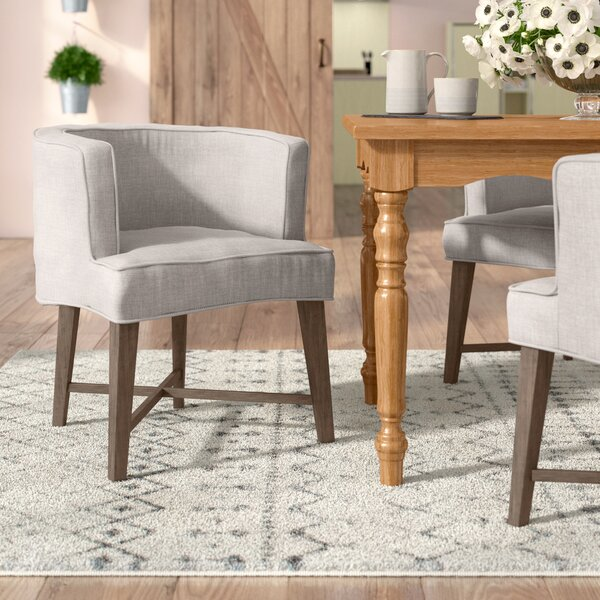 Wellison Upholstered Arm Chair (Set of 2) by Gracie Oaks
