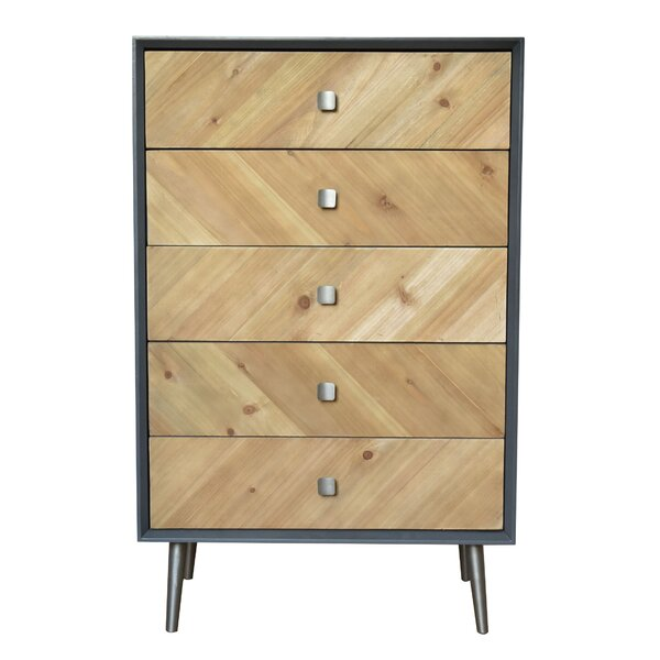 Getz 5 Drawer Accent Cabinet by Ivy Bronx Ivy Bronx