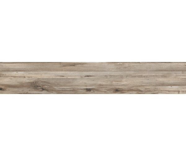 Theory 8 x 45 Porcelain Wood Look/Field Tile in Taupe by Emser Tile