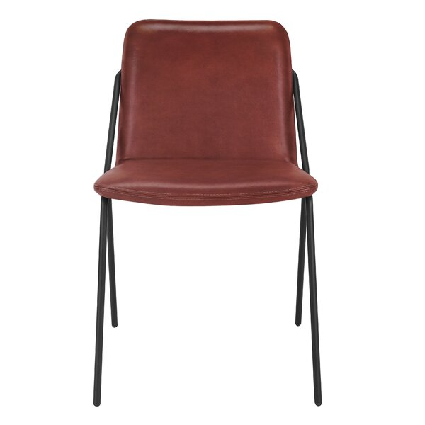 Bargain Sling Eco Leather Dining Chair By M.a.d. Furniture Reviews