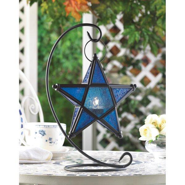 Star Table Iron Lantern by Zingz & Thingz
