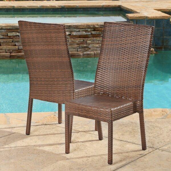 Arturo Patio Dining Chair (Set of 2) by Latitude Run