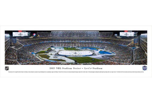 NHL 2015 Stadium Series by Christopher Gjevre Photographic Print by Blakeway Worldwide Panoramas, Inc