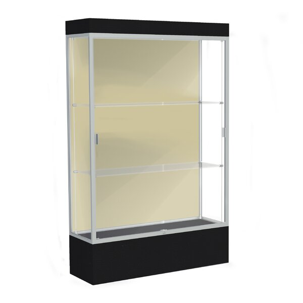 Edge Series Floor Display Case by Waddell