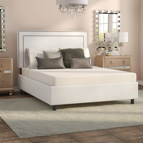 Adhafera Upholstered Standard Bed by Willa Arlo Interiors