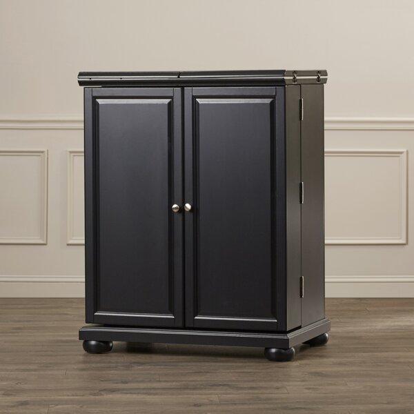 Hedon Bar Cabinet with Wine Storage by Three Posts Three Posts