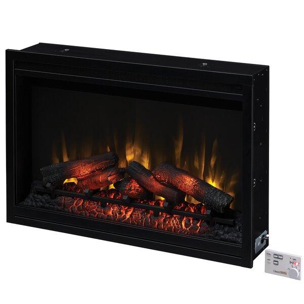 Biskoupky Traditional Electric Fireplace Insert by Winston Porter Winston Porter