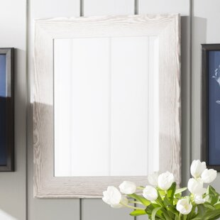 Beachcrest Home Rectangle Antique Wall Mirror