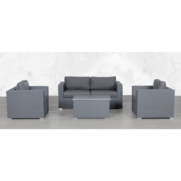 Frisch Modular 5 Piece Sofa Seating Group with Cushions by Orren Ellis