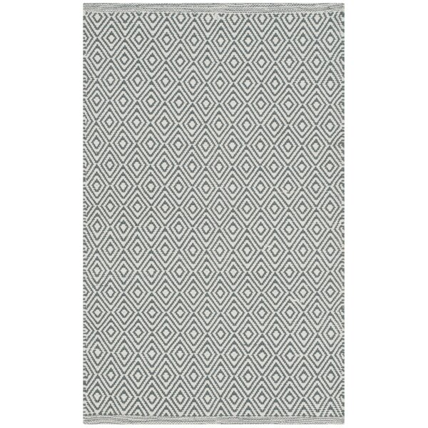 Shevchenko Place Hand-Woven Ivory/Gray Area Rug by Wrought Studio
