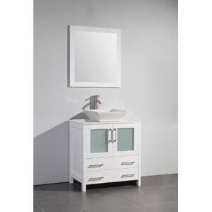 30 Inch Vintage Bathroom Vanity modern bathroom vanities & cabinets | allmodern