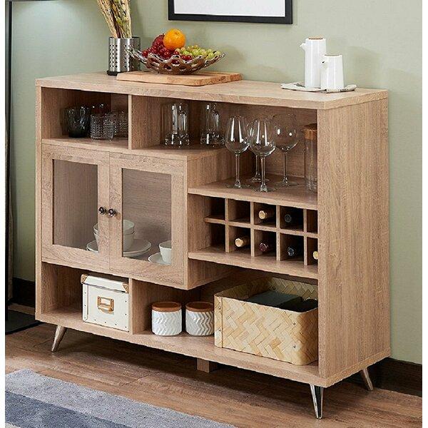 Duong Wooden Bar with Wine Storage by Brayden Studio