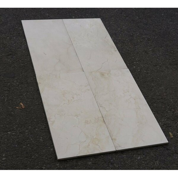 Crema Marfil Standard Honed 9x18 Marble Field Tile