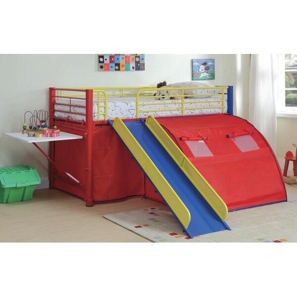 Lancelot Twin Low Loft Bed by Zoomie Kids