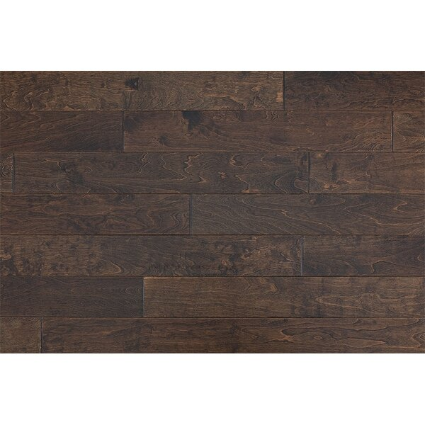 Tatargil 5 Engineered Maple Hardwood Flooring in Latte by Orren Ellis