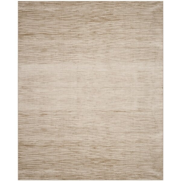 Jessup Hand-Woven Creamy Custard Area Rug by Gracie Oaks
