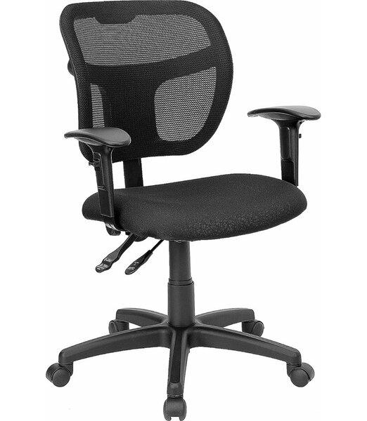 Krull Mid-Back Mesh Swivel Office Chair by Symple Stuff