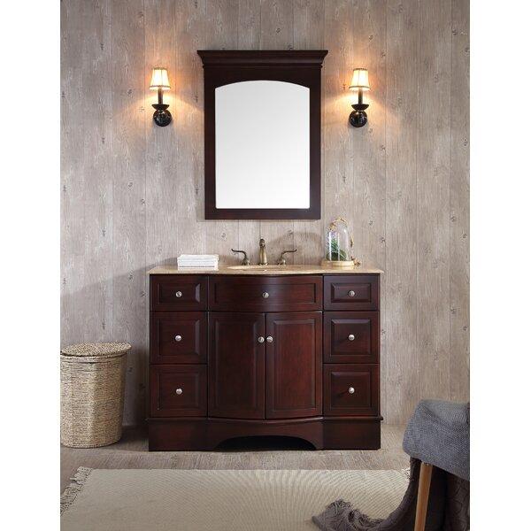 Dale 48 Single Bathroom Vanity Set with Mirror by dCOR design