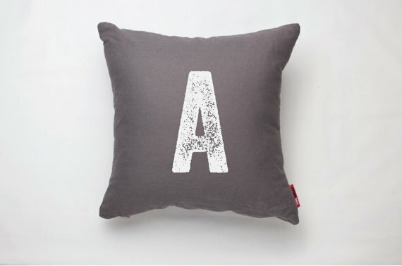 Dolton Letter A Decorative Throw Pillow by Gracie Oaks